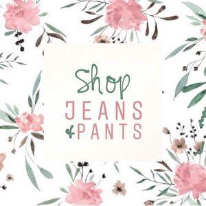 shop jeans & pants x